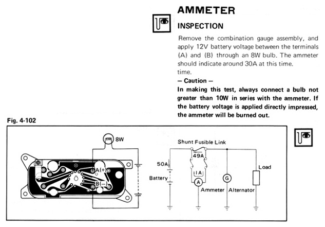 amp gauge wiring diagram amp gauge wiring diagram