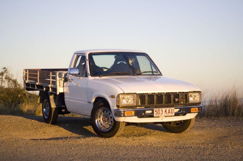 Andrew S 1981 Toyota Hilux Ute Rn40 Retro Jdm