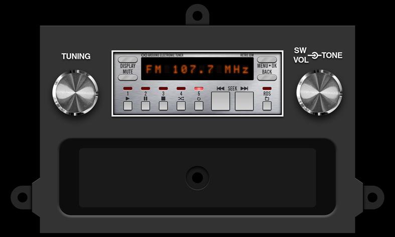 Craig Power Play Car Stereo 8 Track Stereo Vintage