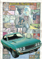 Toyota Celica - Brochures - 1971 (12 page) (FR)