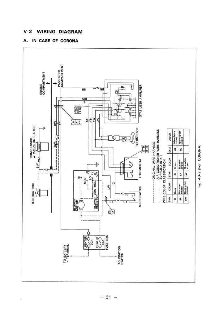 Tremendous Toyota Service Manual Air Conditioning System 1971 Page 31 Wiring Database Gramgelartorg