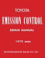 Toyota Misc - Service Manuals - Emissions Control - 1975
